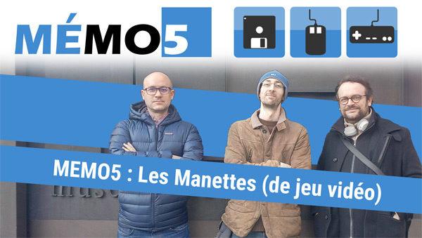 memo5 manette