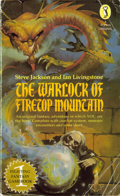 warlock firetop mountain