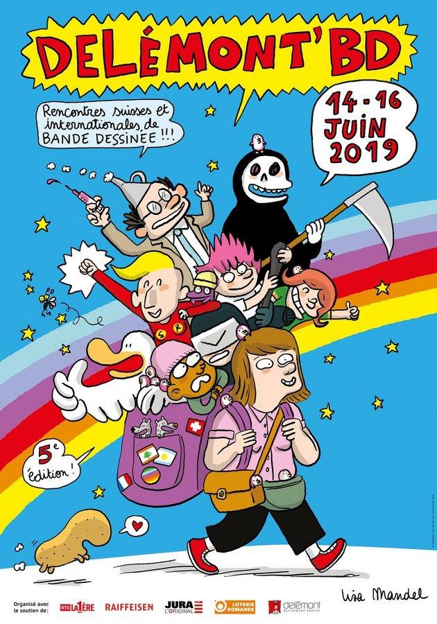 Affiche Delémont BD