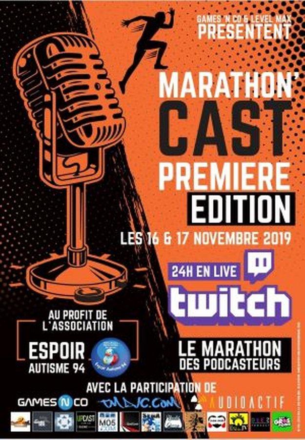 Affiche Marathoncast