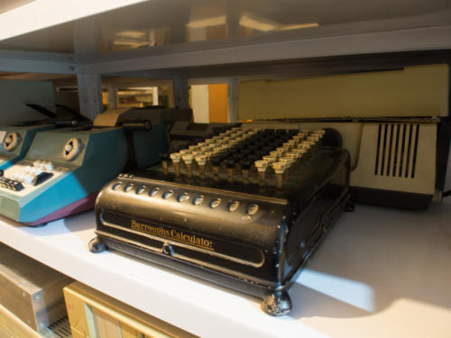 Une calculatrice de notre cœur de collection