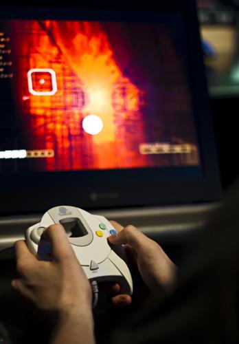 Rez sur Dreamcast - Museogames (2010)